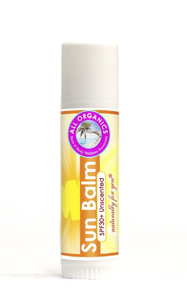 Sun Balm SPF 30+ (Unscented and Waterproof)