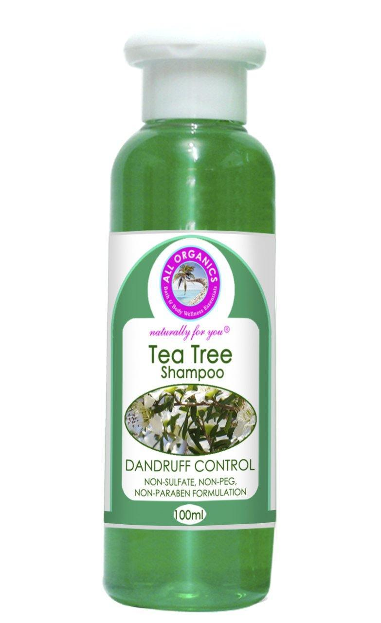 Tea Tree Anti-Dandruff Shampoo - Milea All Organics - Philippines