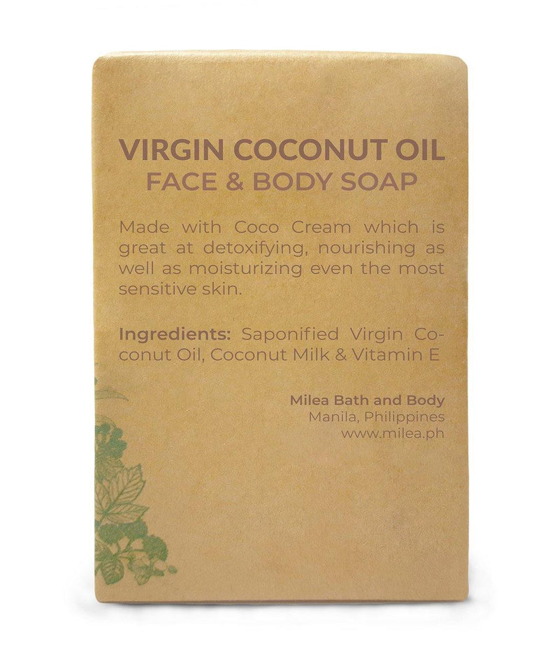 Virgin Coconut Oil with Coco Cream Soap - Milea All Organics