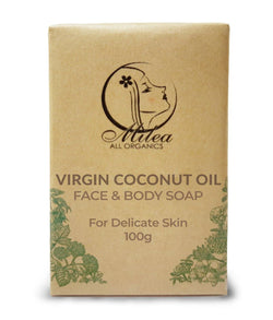 Virgin Coconut Oil with Coco Cream Soap - Milea All Organics - Philippines