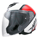 SCHUBERTH M1 Flip Front Helmet - BLACK/RED/WHITE