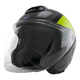SCHUBERTH M1 Flip Front Helmet - GREY/BLACK/YELLOW
