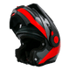 SCHUBERTH E1 Flip Front Casco - Black/Red
