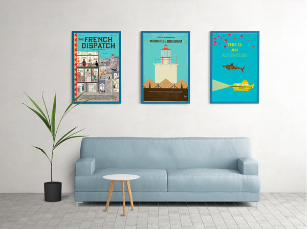 The French Dispatch Canvas Poster Olbiostore