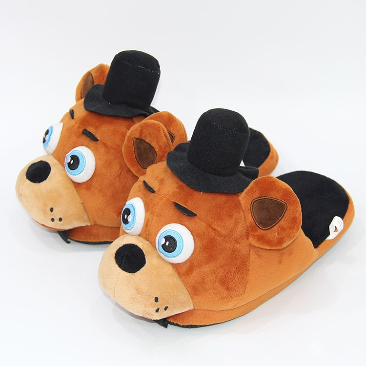 OLBIO FNAF Plush Slippers Five Nights At Freddy's