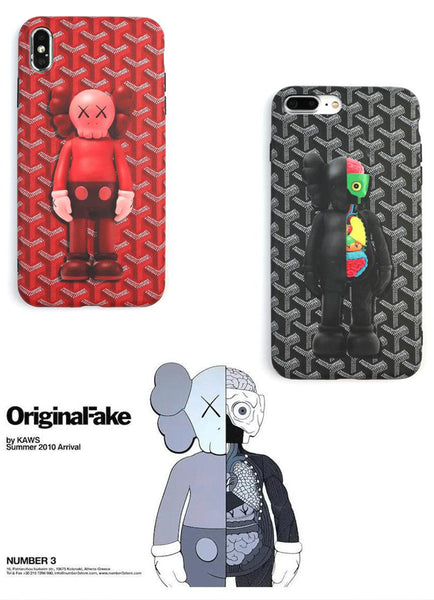 kaws companion case iphone