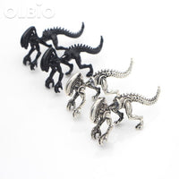 Olbio Aliens Vs. Predator Pair Of Earrings Xenomorph For Women Free Shipping