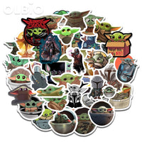 Stickers Baby Yoda Star Wars The Mandalorian The Child olbiostore.com