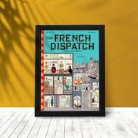 New The French Dispatch Movie Poster
