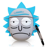 Earphone Cover For Airpods Case For Silicone Rick And Morty Cover Protective Skin Case For Apple Airpods Case Accessories