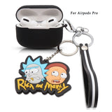 3D Rick And Morty Earphone Cases For AirPods (With HOOK)