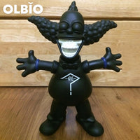 Olbio Kaws Madness X Ron English Joker Black Cosplay Action Figure New Limited Edition