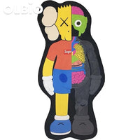 Kaws Carpet Companion Mat Yellow / 40*70Cm