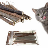 Cat Cleaning Teeth Catnip Sticks *free Shipping