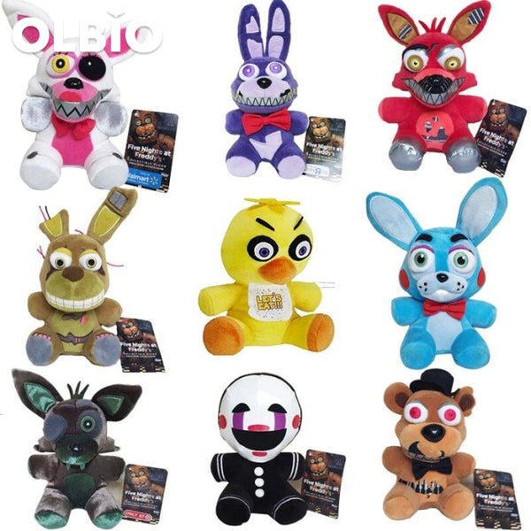 Olbio Fnaf Sister Location Five Nights At Freddys Lefty Plush Funko Free Shipping