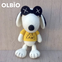 OLBIO KAWS Snoopy Crochet with Sunglasses