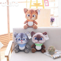 Olbio 3D Simulation Stuffed Cat Toys Double-Side Seat Sofa Pillow Free Shipping