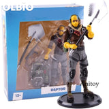 Action Figure Raptor / Skull Trooper Fortress Night Battle Royale Pvc Hot Game Collection Model Toy