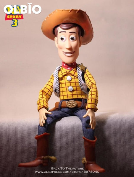 Olbio Disney Talking Woody Doll Toy Story 4 Interactive Action Figure 35Cm