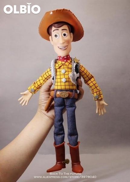 Olbio Disney Talking Woody Doll Toy Story 4 Interactive Action Figure 35Cm Talk No Box