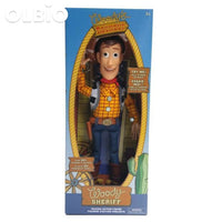 Olbio Disney Talking Woody Doll Toy Story 4 Interactive Action Figure 35Cm Talk With Box