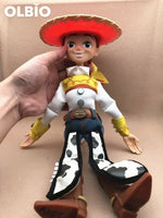 Olbio Disney Talking Woody Doll Toy Story 4 Interactive Action Figure 35Cm Talk Jessie No Box