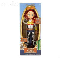Olbio Disney Talking Woody Doll Toy Story 4 Interactive Action Figure 35Cm Talk Jessie With Box