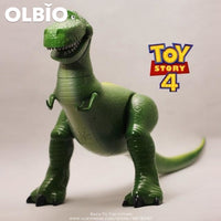 Olbio Disney Talking Woody Doll Toy Story 4 Interactive Action Figure 35Cm Talk Rex No Box