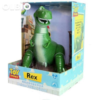 Olbio Disney Talking Woody Doll Toy Story 4 Interactive Action Figure 35Cm Talk Rex With Box