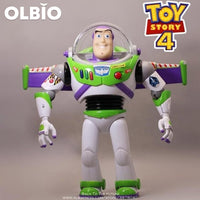 Olbio Disney Talking Woody Doll Toy Story 4 Interactive Action Figure 35Cm Talk Buzz No Box