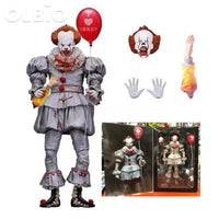 Olbio Action Figure It Pennywise Clown 7 Neca Well House B With Box Doll