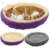 Soft Cat Round Bed Warm Sleeping Mat