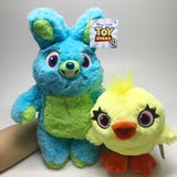 Movie Toy Story 4 Plush Toys Cute Cartoon Rabbit Bunny Duck Ducky Soft Stuffed Animal Dolls Gift for Kids Children