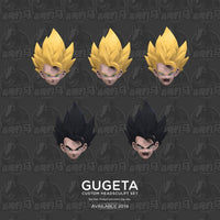 OLBIO DBZ Tronzo Demoniacal Fit Dragon Ball Custom Headsculpt Set for SHF Gogeta