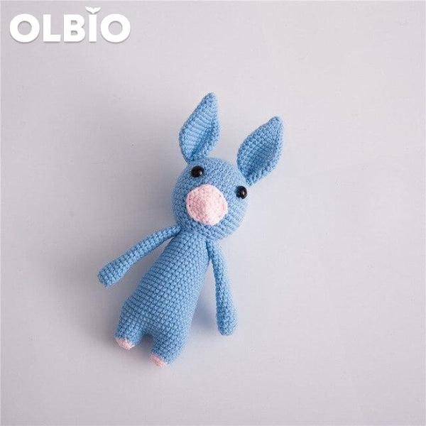 Olbio Cute Animal Toys Christmas Rabbit