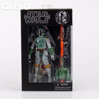 The Force Awakens Black Series 6 Inch Pobaffite Figure Boba Fett Mandalorian