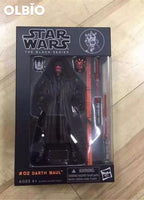 The Force Awakens Black Series 6 Inch Pobaffite Figure Boba Fett Mandalorian 02 Darth Maul