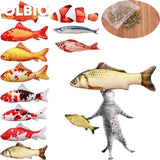 Olbio Fish Plush Toy With Catnip + Free Shipping