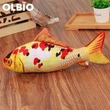 Olbio Fish Plush Toy With Catnip + Free Shipping 1 / 20Cm
