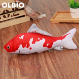 Olbio Fish Plush Toy With Catnip + Free Shipping 2 / 20Cm