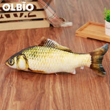 Olbio Fish Plush Toy With Catnip + Free Shipping 8 / 20Cm