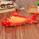 Olbio Fish Plush Toy With Catnip + Free Shipping 3 / 20Cm