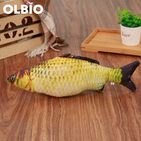 Olbio Fish Plush Toy With Catnip + Free Shipping 9 / 20Cm