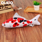 Olbio Fish Plush Toy With Catnip + Free Shipping 5 / 20Cm