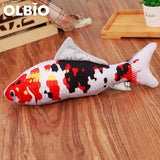 Olbio Fish Plush Toy With Catnip + Free Shipping 6 / 20Cm