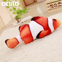 Olbio Fish Plush Toy With Catnip + Free Shipping 7 / 20Cm