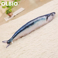 Olbio Fish Plush Toy With Catnip + Free Shipping 10 / 20Cm