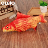 Olbio Fish Plush Toy With Catnip + Free Shipping 11 / 20Cm