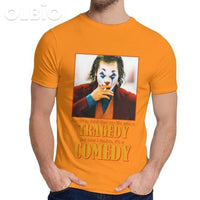 Olbio T-Shirt Joker Joquin Phoenix Orange / S