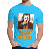 Olbio T-Shirt Joker Joquin Phoenix Royal Blue / 5Xl